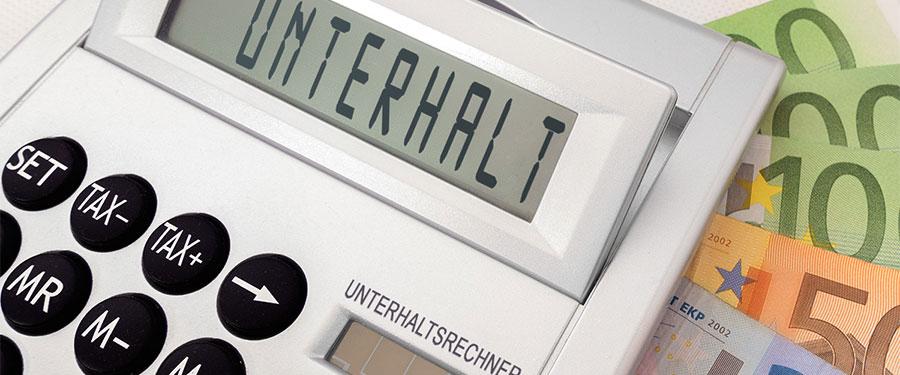 Unterhaltsrechner Unterhalt Geld Berechnung